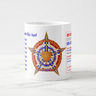 Basketball Coach JUMBO Please View Hints Below Giant Coffee Mug