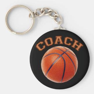 Basketball Coach Key Chain