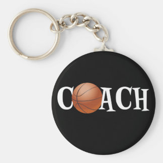 Basketball Coach Keychain