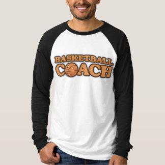 Basketball Coach Long Sleeve Raglan T-Shirt
