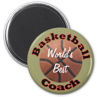 Basketball Coach Fridge Magnets
