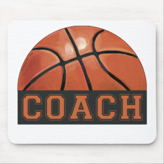 Basketball Coach Mouse Pad