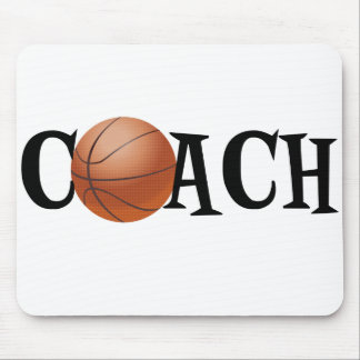 Basketball Coach Mouse Pad