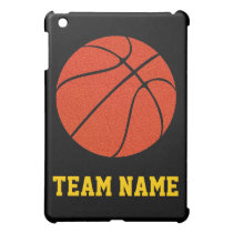 Basketball Coach or Player Custom Team Name Sports Case For The iPad Mini