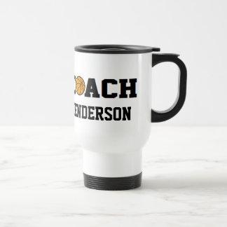 Basketball Coach - Personalized Travel Mug