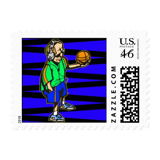 Basketball Coach Stamps