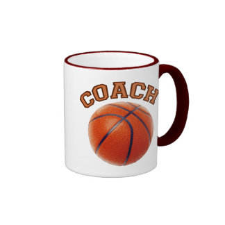 Basketball Coach Ringer Mug