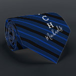 "Basketball Coach Signature Name Navy Striped Neck Tie<br><div class=""desc"">A navy striped tie tailored to the Basketball coach who loves the sport. It features the word coach on the bottom half of the tie and a spot for yours or your gift recipient's signature name underneath it.</div>"