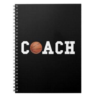 Basketball Coach Spiral Notebook