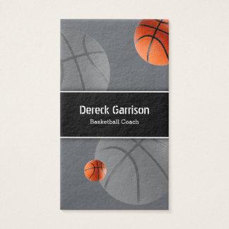 Basketball Coach Sport Business Card