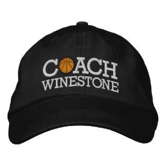 Basketball Coach - SRF Embroidered Baseball Cap