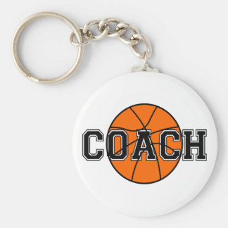 Basketball Coach T-shirts and Gifts. Keychain
