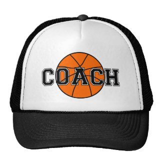 Basketball Coach T-shirts and Gifts. Trucker Hat