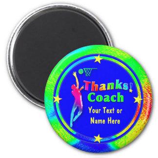 Basketball Coach Thank You Stars Magnet