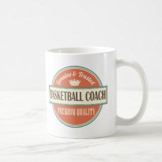Basketball Coach Vintage Sports Design Gift Mug