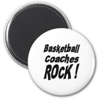 Basketball Coaches Rock! Magnet