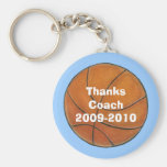 Basketball Coach's Key Chain