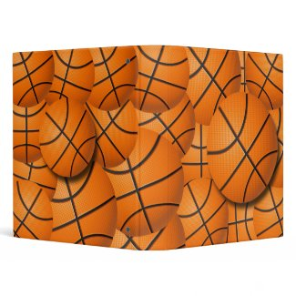 BASKETBALL COLLAGE binder