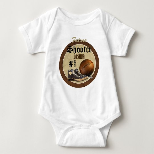 Basketball Court Baby Bodysuit