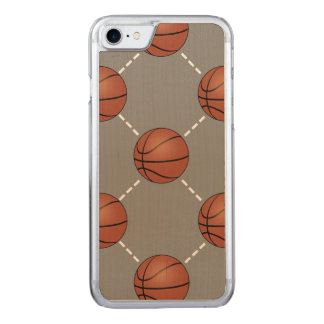 Basketball Court Carved iPhone 7 Case