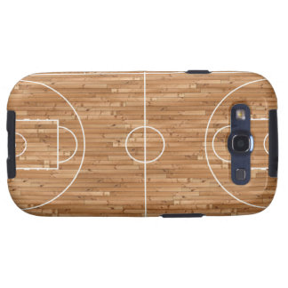 Basketball Court Case Cover Galaxy S3 Cases