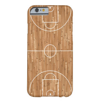 Basketball Court Case Cover Barely There iPhone 6 Case