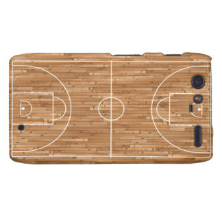 Basketball Court Case Cover Droid RAZR Cases