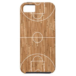 Basketball Court Case Cover iPhone 5 Covers