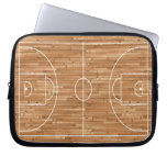 Basketball Court Case Cover Laptop Computer Sleeves