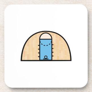 Basketball Court Beverage Coaster