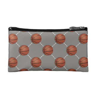 Basketball Court Cosmetic Bag