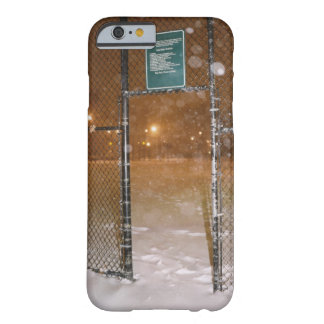 Basketball Court in Snow Barely There iPhone 6 Case