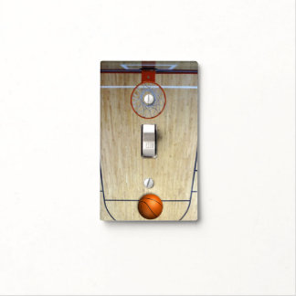 Basketball Court Light Switch Cover