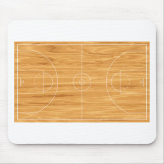Basketball Court Mouse Pad