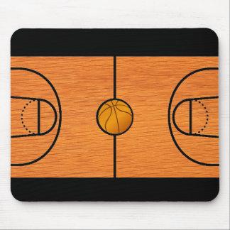 Basketball Court Mousepad - Unique Basketball Gift