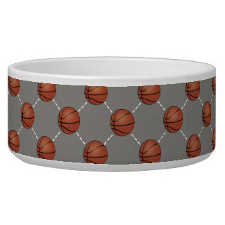 Basketball Court Dog Food Bowl