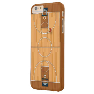 Basketball Court Pitch Hall Ball Barely There iPhone 6 Plus Case
