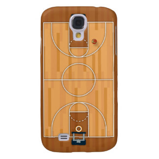 Basketball Court Pitch Hall Ball Galaxy S4 Covers