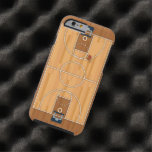 Basketball Court Pitch Hall Ball Tough iPhone 6 Case