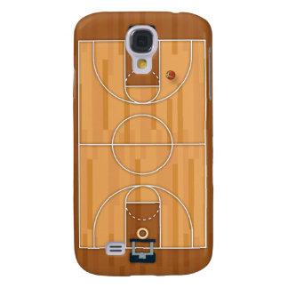 Basketball Court Pitch Hall Ball Galaxy S4 Case