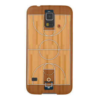 Basketball Court Pitch Hall Ball Galaxy S5 Cover