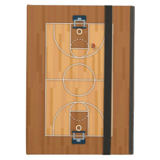 Basketball Court Pitch Hall Ball Cover For iPad Air