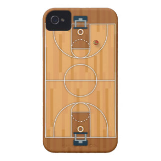 Basketball Court Pitch Hall Ball iPhone 4 Cover