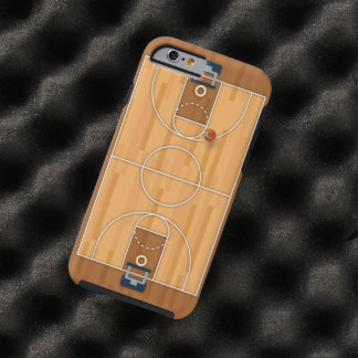 Basketball Court Pitch Hall Ball iPhone 6 Case