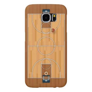 Basketball Court Pitch Hall Ball Samsung Galaxy S6 Case