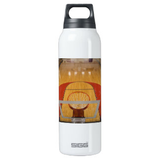 BASKETBALL COURT THERMOS BOTTLE