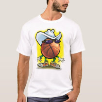 Basketball Cowboy T-Shirt