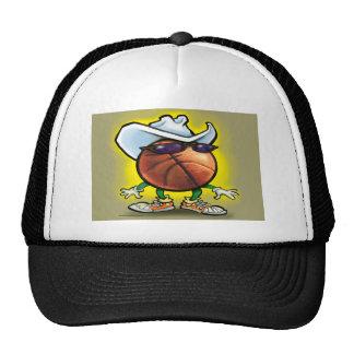 Basketball Cowboy Trucker Hat