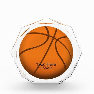 Basketball Crystal Sports Trophy Acrylic Award