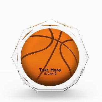 Basketball Crystal Sports Trophy Awards